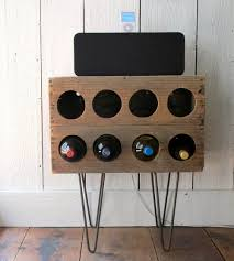 diy rustic wine rack of a crate shelterness