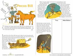 pecos bill pecos bill bill o u0027brien and worksheets