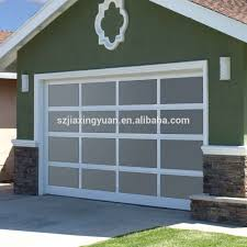 Overhead Garage Door Price Quality Aluminum Frame Glass Overhead Garage Door Prices