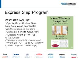 Faux Wood Blinds Custom Size Custom Size Now Product Training Ppt Video Online Download