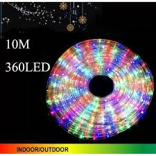 other 10m 360 led multi color rope lights 3 wire with 8 function