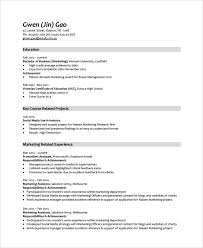 Sample Resume Australian Format by Monash Resume 10 Sample Job Resumes Free Sample Example Format