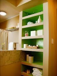 bathroom built in storage ideas