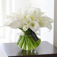 white floral arrangements white roses flower arrangements luxury white orchid and