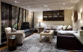 Basement Family Room Colors Interesting Basement Family Room - Family room in basement