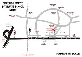 Noida Metro Route Map by Pathways Noida Best Schools In Noida