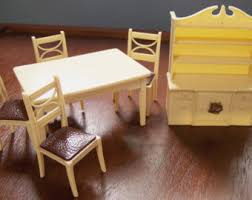 dollhouse furniture kitchen dollhouse dining etsy