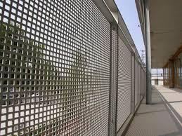 balkon gitter lochblech geländer balkonverkleidung