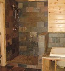 No Shower Door Tiled Walk In Shower No Door Home Interior Exterior