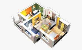 home design 3d premium perspective isometric view of apartment unit isometric drawing