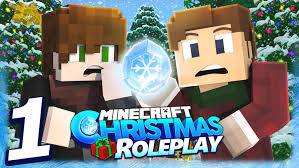 minecraft christmas roleplay the crystal ep 1 youtube