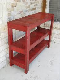 diy entryway table plans red entry table entry table 3275 red e ridit co
