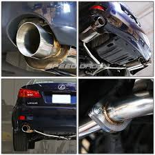 lexus altezza motor 3 75 u0026 034 tip catback axleback header exhaust 06 13 lexus is250