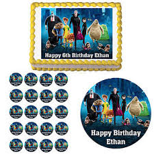hotel transylvania cake toppers hotel transylvania 2 edible birthday party cake cupcake toppers