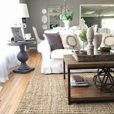 Livingroom Johnston Add Texture To Your Neutral Space With A Jute Rug Like This One