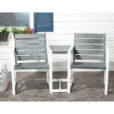 safavieh montclair outdoor 3 seat acacia patio bench with beige