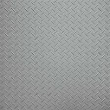silver checker plate vinyl flooring tiles 44 90 per square metre