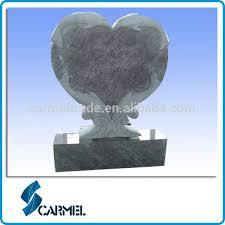 cheap headstones heart dolphin design blue granite cheap headstones for babies