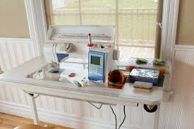 Portable Sewing Table by Husqvarna Viking Sapphire 930 Sewing Machine Quiltsocial