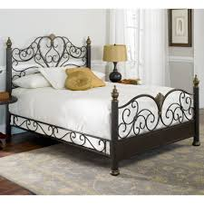 bedroom furniture cast iron bed frame metal bed frame king
