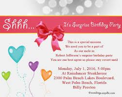 surprise birthday invitation wording u2013 gangcraft net