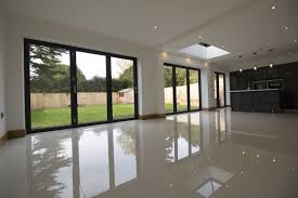 Open Plan Kitchen Living Room Ideas Uk New Build Aluminium Case Study Heswall Wirral