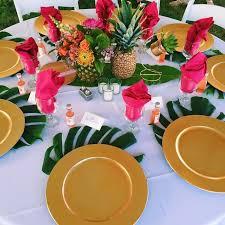 best 25 luau table decorations ideas on pinterest luau party