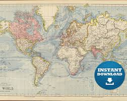 printable world map a1 printable world map from 1904 a high resolution 600 dpi