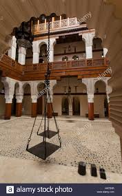 wooden arts and crafts the nejjarine museum of wooden arts and crafts fez morocco stock