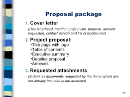 project proposal cover letter request for proposal cover