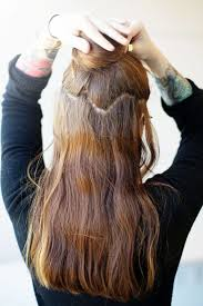 in hair extensions how to install clip in hair extensions new hair