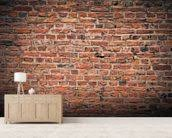 brick wall wallpaper wall mural wallsauce new zealand