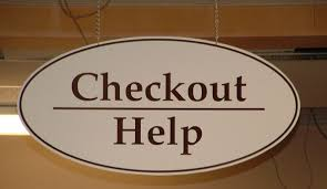 check in desk sign checkout sign jpg 1190 691 library signage pinterest library