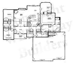 open floor plan blueprints floor plan of bedroom bungalow on half plot house ideas master