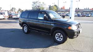 2003 mitsubishi montero black stock 11314 youtube