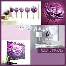 wall decorating ideas for living room purple wall decor four panel white background colours large plum