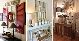 Furniture For Entryway 27 Best Rustic Entryway Decorating Ideas And Designs For 2017