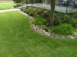 River Rock Garden by River Rock Garden Edging Ideas Video And Photos Madlonsbigbear Com