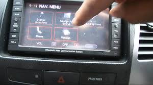 wrecking 2008 mitsubishi outlander c15575 sat nav youtube