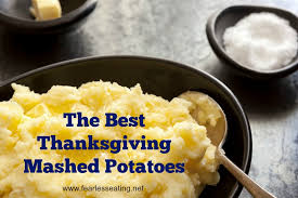 the best thanksgiving mashed potatoes fearless