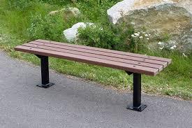 series dr benches custom park u0026 leisure