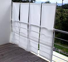 balkon sichtschutz de paravue 3 4 balkonsichtschutz werkzeugfrei 1 50 m hoch