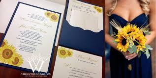 sunflower wedding invitations a vibrant wedding custom invitations stationery design 619