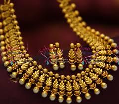 gold antique necklace sets images Nl5043 antique intricate handmade design fancy jewellery set shop JPG
