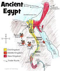 this is a map of ancient egypt to print label and color with
