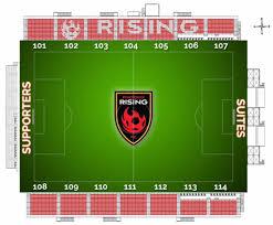Arizona Stadium Map by Seating Chart