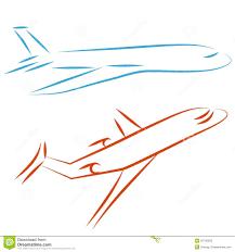 flying airplane illustration royalty free stock images image