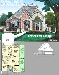Country House Plan by Plan 48033fm Petite French Cottage French Country House Plans