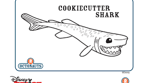 cookiecutter shark 815254 coloring pages free 2015