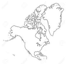 Outline Of America Map by Geography Blog Printable Maps Of North America North America